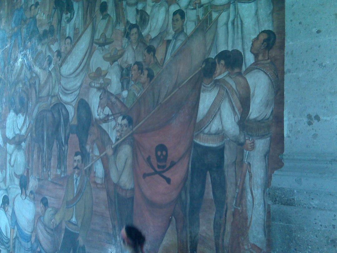 Mexico City Diego Rivera Mural Chapultepec Castle