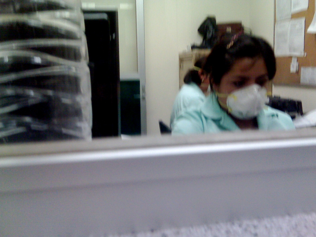 Hospital Siglo XXI mexico city influenza flu swine flu cubreboca flu-mask hospitals diseases