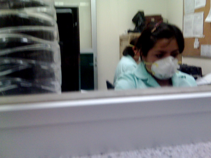 Hospital Siglo XXI mexico city influenza flu swine flu cubreboca flu-mask hospitals diseases