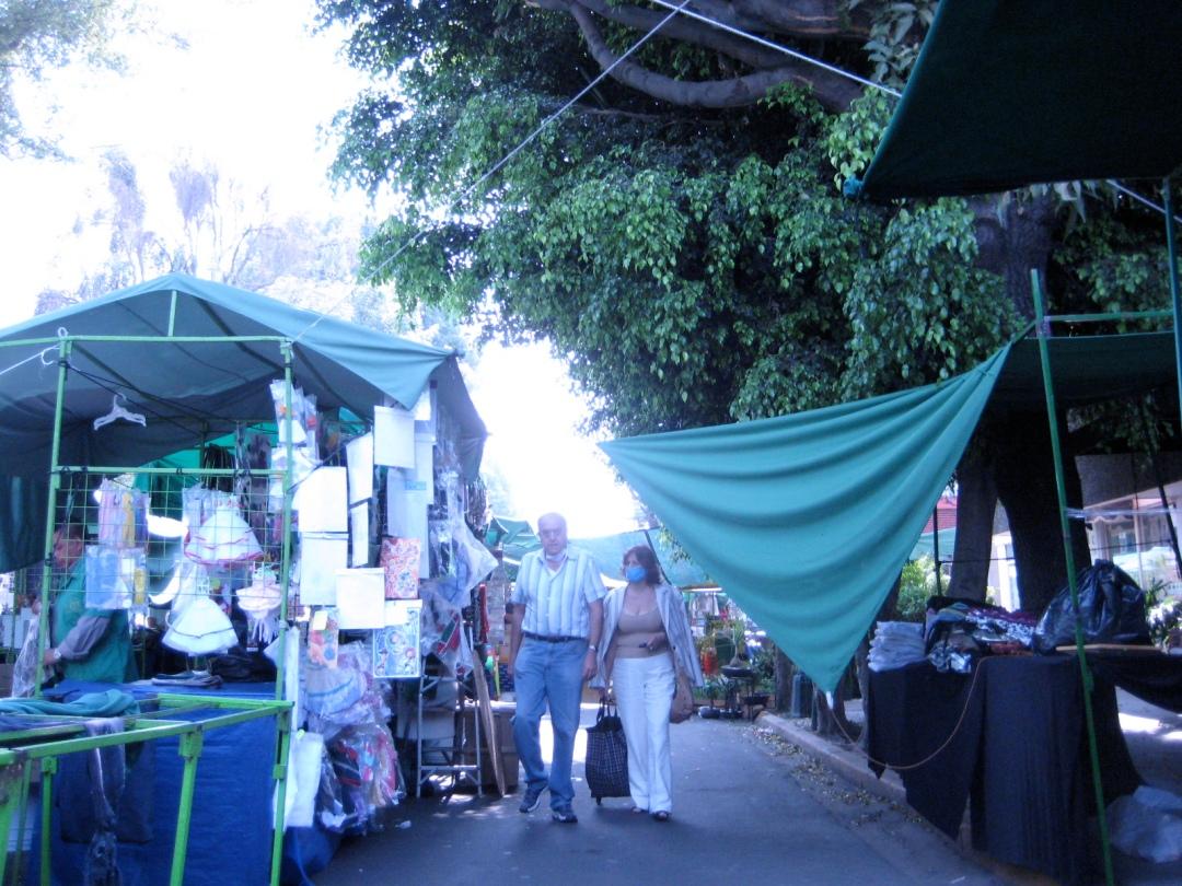 tiangues del valle mexico city flu swine flu influenza cubreboca flu-mask