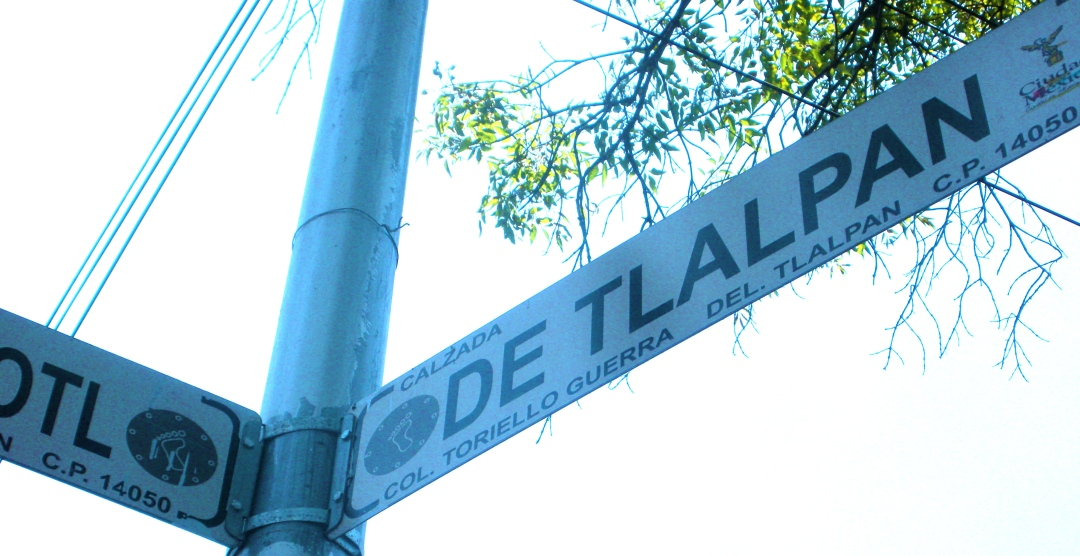 Hospital cross street in Tlalpan