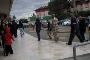 Entrance to Pabellon Lindavista in Ticoman (D.F.) where the rap show was held. October, 2009